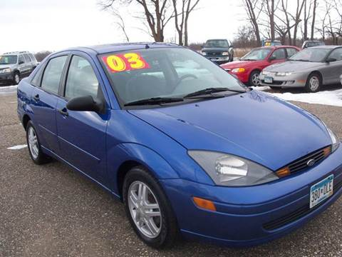 2003 Ford Focus for sale at Country Side Car Sales in Elk River MN