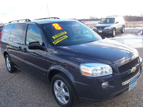 2008 Chevrolet Uplander for sale at Country Side Car Sales in Elk River MN