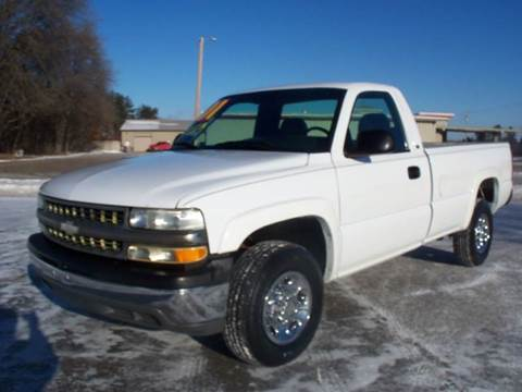 2001 Chevrolet Silverado 2500 for sale at Country Side Car Sales in Elk River MN
