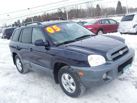 2005 Hyundai Santa Fe for sale at Country Side Car Sales in Elk River MN