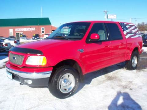 2001 Ford F-150 for sale at Country Side Car Sales in Elk River MN