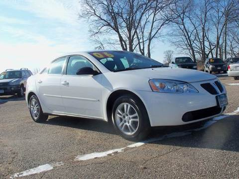 2006 Pontiac G6 for sale at Country Side Car Sales in Elk River MN