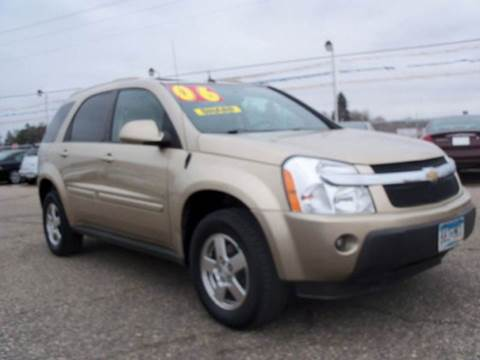 2006 Chevrolet Equinox for sale at Country Side Car Sales in Elk River MN