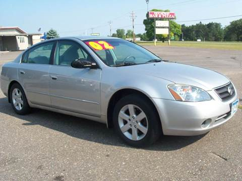 2002 Nissan Altima for sale at Country Side Car Sales in Elk River MN