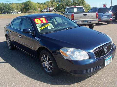 2007 Buick Lucerne for sale at Country Side Car Sales in Elk River MN