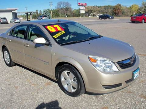 2007 Saturn Aura for sale at Country Side Car Sales in Elk River MN