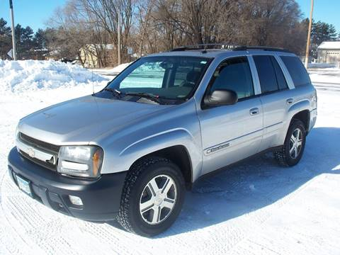 2004 Chevrolet TrailBlazer for sale at Country Side Car Sales in Elk River MN