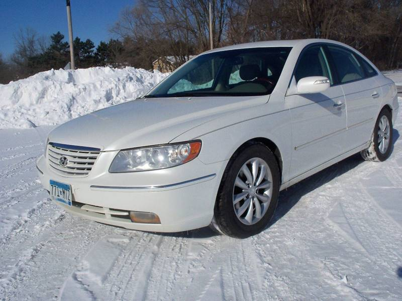 2008 Hyundai Azera for sale at Country Side Car Sales in Elk River MN