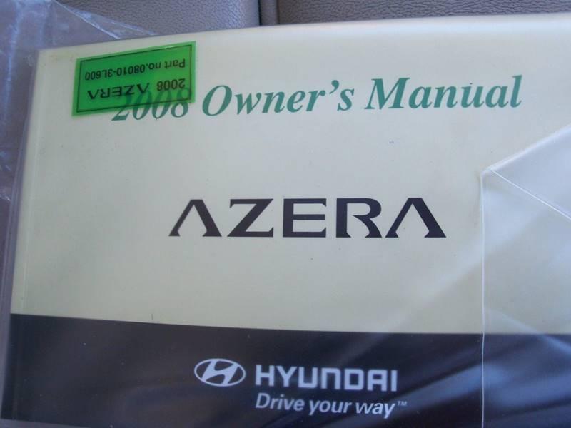 2008 Hyundai Azera Limited 4dr Sedan In Elk River MN - Country Side