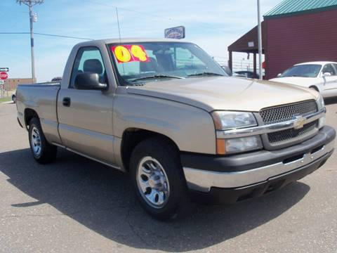 2004 Chevrolet Silverado 1500 for sale at Country Side Car Sales in Elk River MN