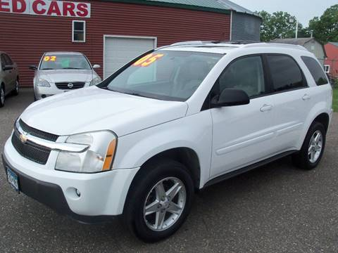 2005 Chevrolet Equinox for sale at Country Side Car Sales in Elk River MN
