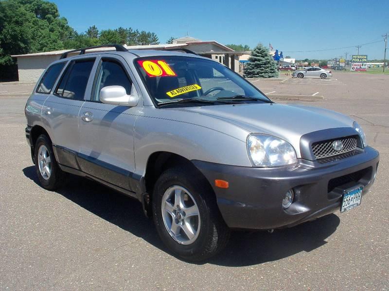 2001 Hyundai Santa Fe for sale at Country Side Car Sales in Elk River MN