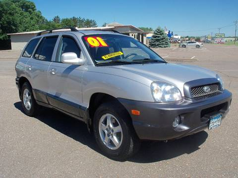 2001 Hyundai Santa Fe for sale at Country Side Car Sales in Elk River MN