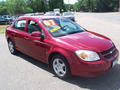 2007 Chevrolet Cobalt for sale at Country Side Car Sales in Elk River MN