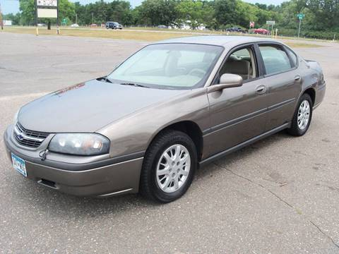 2003 Chevrolet Impala for sale at Country Side Car Sales in Elk River MN
