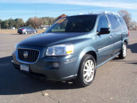 2005 Buick Terraza for sale at Country Side Car Sales in Elk River MN