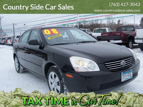 2008 Kia Optima for sale at Country Side Car Sales in Elk River MN