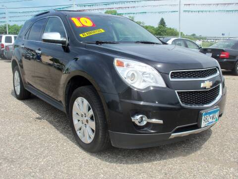 2010 Chevrolet Equinox for sale at Country Side Car Sales in Elk River MN