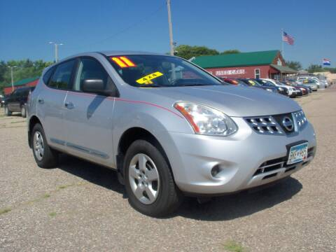 2011 Nissan Rogue for sale at Country Side Car Sales in Elk River MN