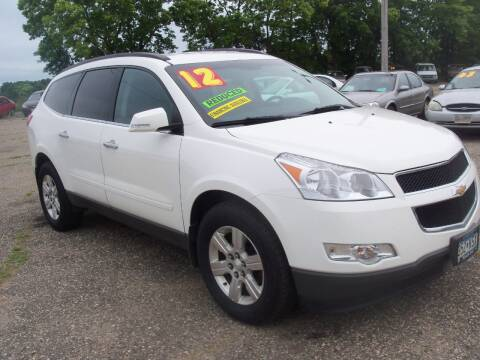 2012 Chevrolet Traverse for sale at Country Side Car Sales in Elk River MN