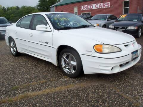 2000 Pontiac Grand Am for sale at Country Side Car Sales in Elk River MN
