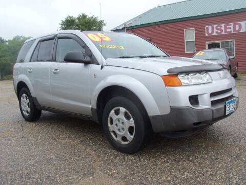 2005 Saturn Vue for sale at Country Side Car Sales in Elk River MN