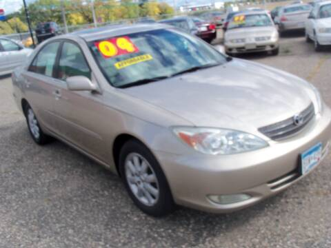 2004 Toyota Camry for sale at Country Side Car Sales in Elk River MN