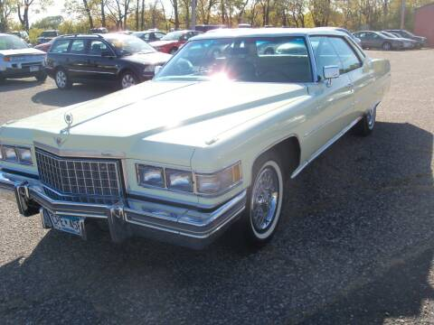 1976 Cadillac DeVille for sale at Country Side Car Sales in Elk River MN