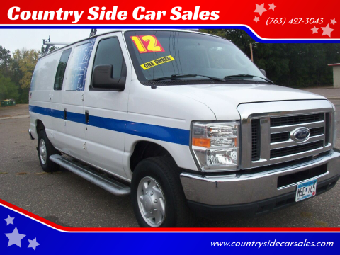 2012 Ford E-Series Cargo for sale at Country Side Car Sales in Elk River MN