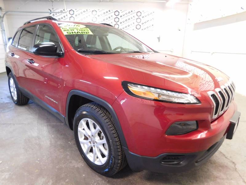 2016 Jeep Cherokee 4x4 Sport 4dr Suv In Reno Nv Budget Motors