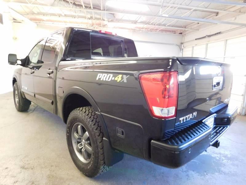2014 nissan titan 4x4 pro 4x 4dr crew cab swb pickup in for Budget motors reno nv