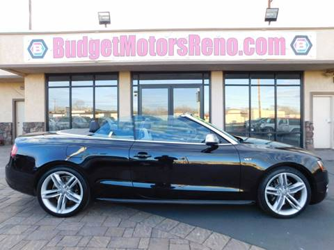 Convertibles for sale in reno nv for Budget motors reno nv