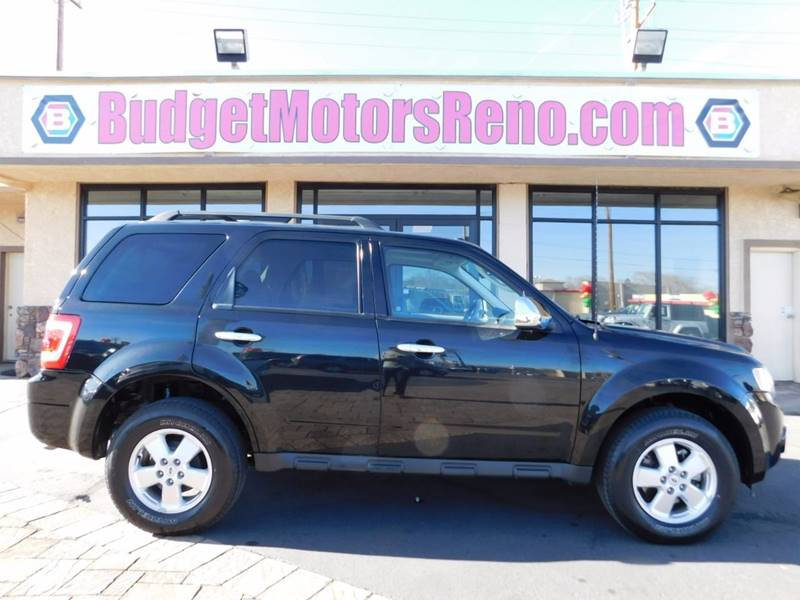2011 Ford Escape Awd Xlt 4dr Suv In Reno Nv Budget Motors
