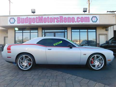 2012 dodge challenger for sale in nevada for Budget motors reno nv