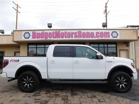 Used ford trucks for sale in reno nv for Budget motors reno nv