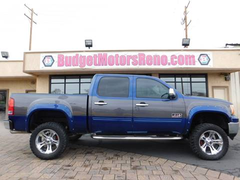 Used 2013 gmc sierra 1500 for sale in nevada for Budget motors reno nv