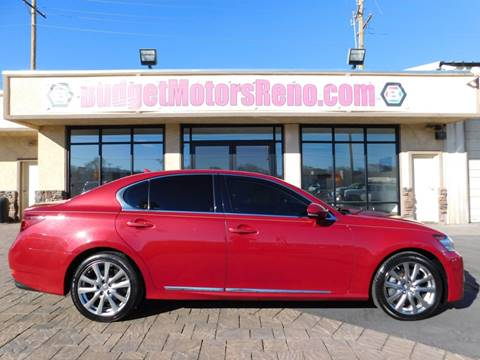 Used lexus for sale in reno nv for Budget motors reno nv