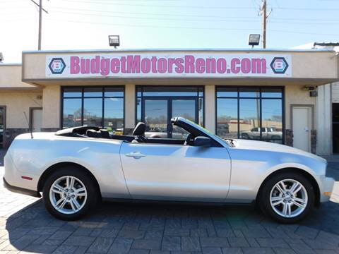 Ford mustang for sale in reno nv for Budget motors reno nv