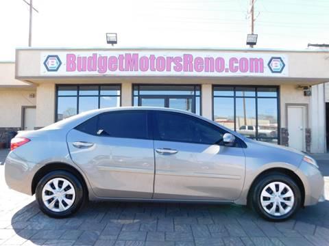 Toyota corolla for sale in nevada for Budget motors reno nv