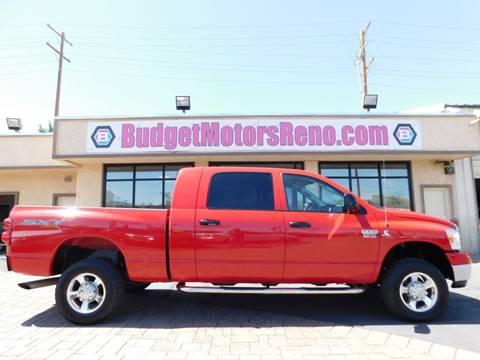 Dodge ram pickup 2500 for sale in reno nv for Budget motors reno nv
