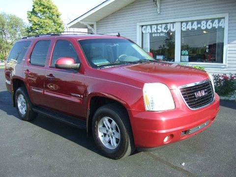 2007 GMC Yukon for sale at Cars 4 U in Liberty Township OH