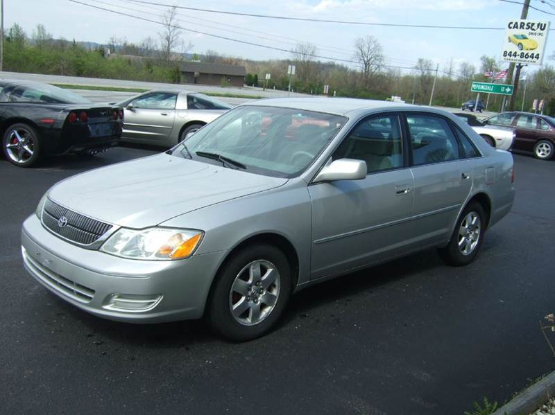 2002 Toyota Avalon for sale at Cars 4 U in Liberty Township OH