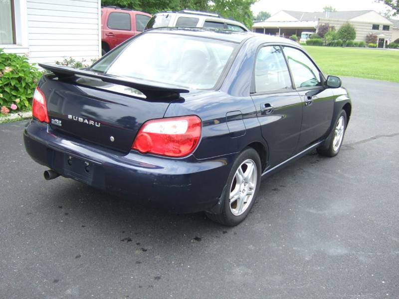 2005 Subaru Impreza for sale at Cars 4 U in Liberty Township OH