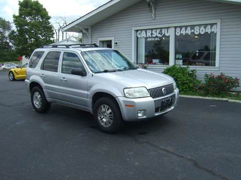 2005 Mercury Mariner for sale at Cars 4 U in Liberty Township OH
