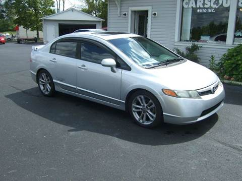 2008 Honda Civic for sale at Cars 4 U in Liberty Township OH