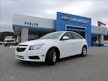 2014 Chevrolet Cruze for sale in Greenville, NC
