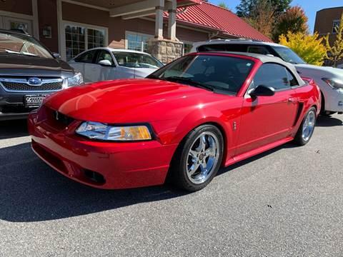 1999 Ford Mustang SVT Cobra for sale in Hendersonville, NC