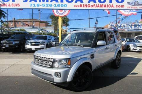 2014 Land Rover LR4 for sale in Hollis, NY