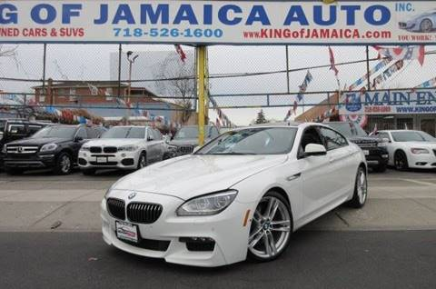 2015 BMW 6 Series for sale at MIKEY AUTO INC in Hollis NY