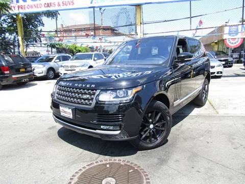2016 Land Rover Range Rover for sale in Hollis, NY